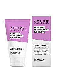 ACURE Radically Rejuvenating Eye Cream | 100% Vegan | Provides Anti-Aging Support | Chlorella & Edelweiss Extract – Hydrates & Minimizes Fine Lines | 1 Fl Oz