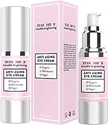 Best Anti Aging Eye Cream Moisturizer for Wrinkles, Crows feet, Puffy Eyes